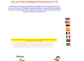 kidsteenswallpapersscreensavers.pages3d.net