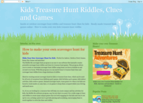 kidstreasurehuntriddles.com