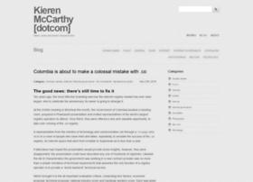 kierenmccarthy.com