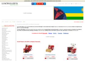 kigali.lusciousgifts.com