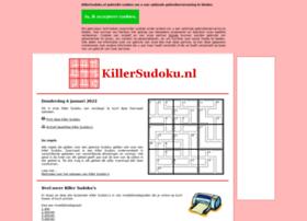killersudoku.nl