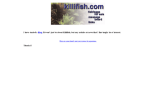 killifish.com