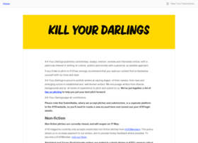 killyourdarlings.submittable.com