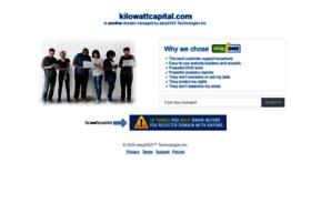 kilowattcapital.com