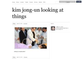 kimjongunlookingatthings.tumblr.com