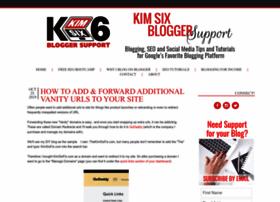 kimsixbloggersupport.com