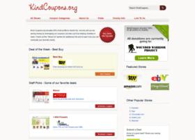 kindcoupons.org