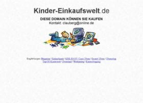 kinder-einkaufswelt.de