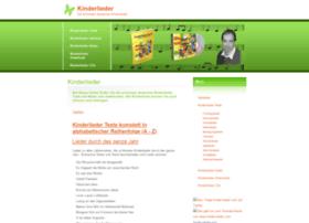 kinder-lieder.com