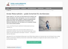 kinder-motorradhelm.de