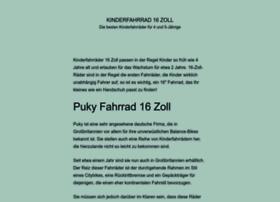 kinderfahrrad16zoll.de