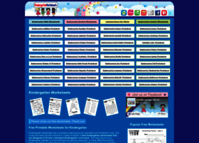 kindergartenworksheets.net