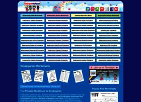 kindergartenworksheets.net