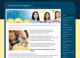 kindergeburtstagsspiele.com