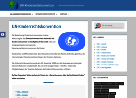 kinderrechtskonvention.info