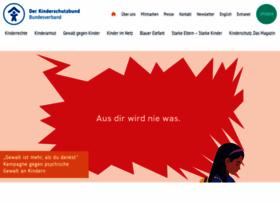 kinderschutzbund.de