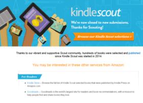 kindlescout.amazon.com