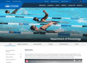 kine.csusb.edu