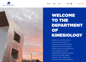 kinesiology.boisestate.edu