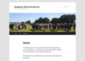 kingaroyshowsociety.com