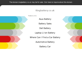 kingbattery.co.uk