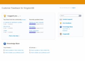 kingdom99.uservoice.com