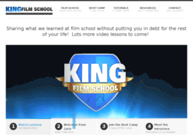 kingfilmschool.com