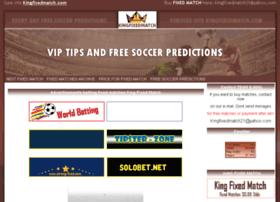 kingfixedmatch.com