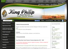 kingphiliphighschool.schoolfusion.us