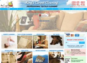 kingscarpetcleaninglv.com