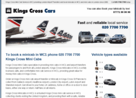 kingscrossminicabs.co.uk