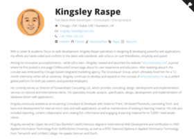 kingsleyraspe.co.uk