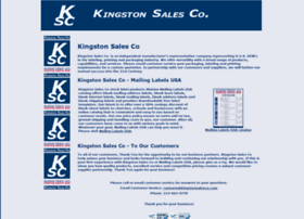 kingstonsalesco.com