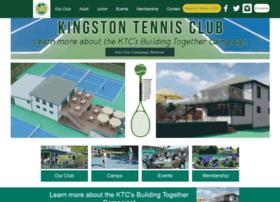 kingstontennisclub.com