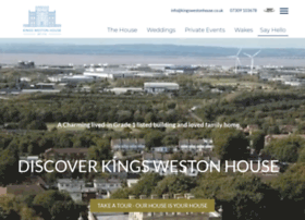 kingswestonhouse.co.uk