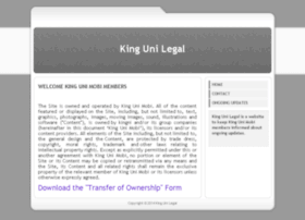kingunilegal.com