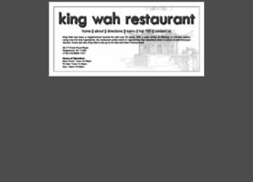 kingwahrestaurant.com
