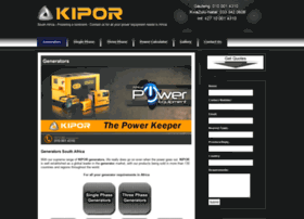 kiporgenerator.co.za