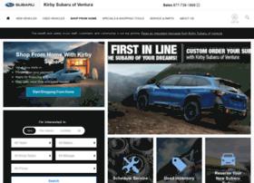 kirbysubaruofventura.com