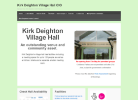 kirkdeightonvillagehall.org.uk