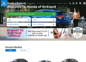 kirklandhonda.com