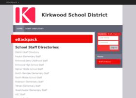 kirkwood.ebackpack.com