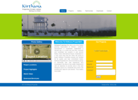 kirthanaproperties.com