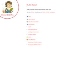 kishan.info