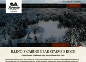 kishauwaucabins.com