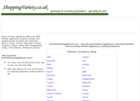 kitchen-appliances-washing-machines.shoppingvariety.co.uk