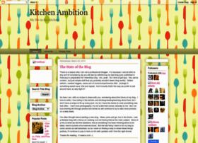 kitchenambition.blogspot.com