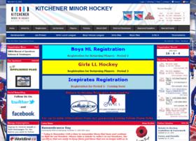 kitchenerminorhockey.ca