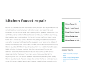 kitchenfaucet-repair.com