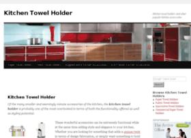 www.kitchentowelholder.net Visit site